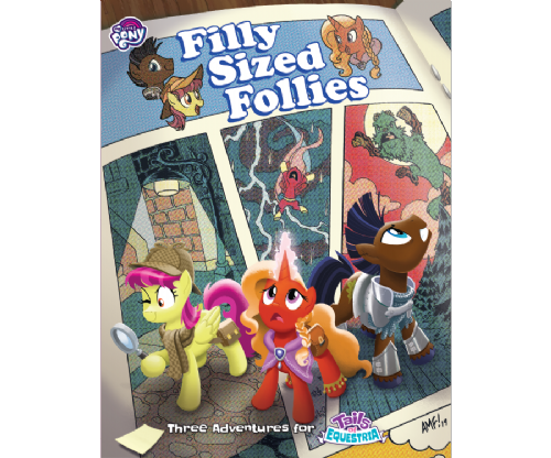 Filly Sized Follies - Tails of Equestria MLP Storytelling Game